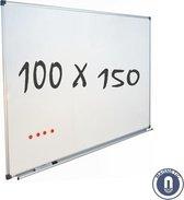 IVOL Whiteboard 100x150cm - Magnetisch - Gelakt staal - Met montagemateriaal