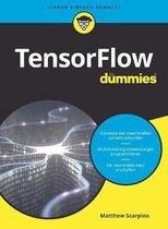 Boek cover TensorFlow fur Dummies van Matthew Scarpino