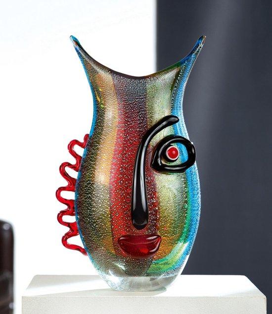 Bol Com Design Vaas Decoratie Vaas Vaas Met Gezicht Faces