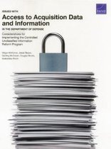 Issues with Access to Acquisition Data and Information in the Department of Defense