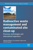 Boek cover Radioactive Waste Management and Contaminated Site Clean-Up van William Lee