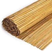 Gespleten Bamboe Mat 150x500cm - ter afscherming van uw tuin of balkon