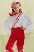 DREAMLAND - verkleedkleding - Thema: Piraat - 2 delig  - Maat 146