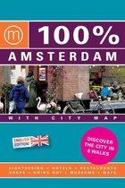100% Amsterdam English Edition / Druk Heruitgave