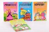 Stickerboek Met Spelletjes En Kleuren