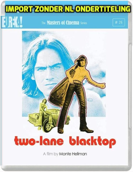 Cover van de film 'Two-Lane Blacktop'