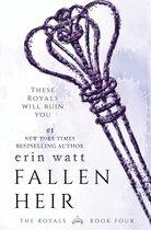 Boek cover Fallen Heir van Erin Watt