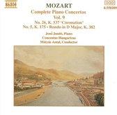 Mozart: Complete Piano Concertos Vol. 9