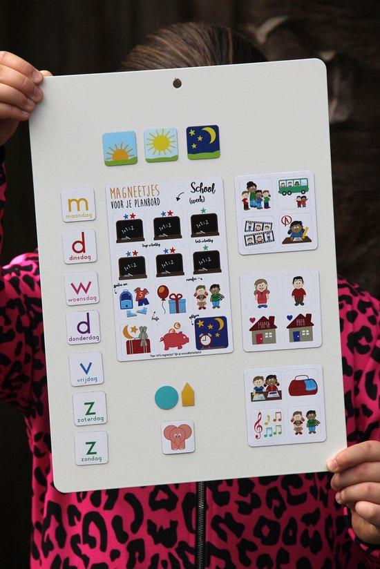 Huiswerk pictogrammen (magnetisch) voor je planbord