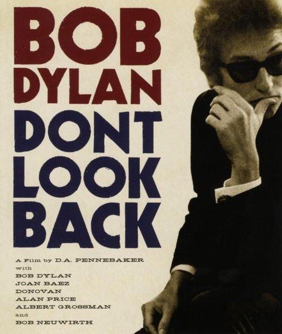 Cover van de film 'Bob Dylan - Don't Look Back'