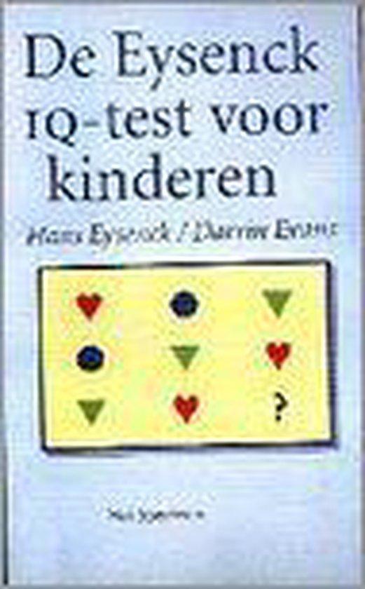 Boek cover De eysenck iq-test voor kinderen van Hans J. Eysenck