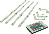 PROLIGHT LED strip line - RGB - 4x60cm - dimbaar - met afstandsbediening