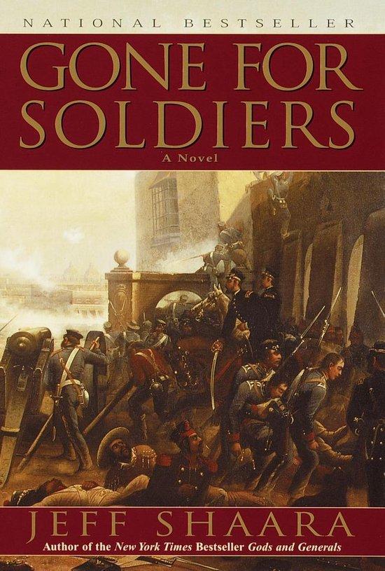 Boek cover Gone for Soldiers van Jeff Shaara (Paperback)