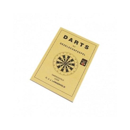 Longfield Darts Scorebord Met Spelregelboek - Longfield Darts