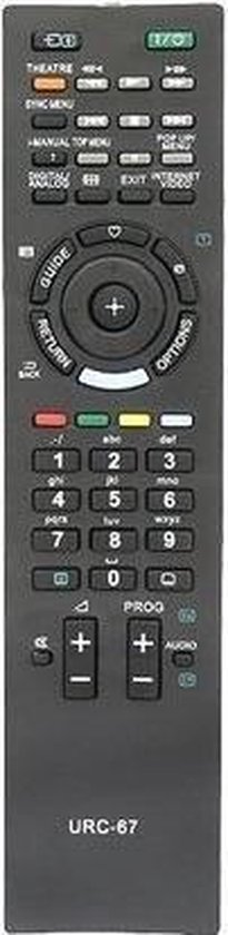 Sony universele afstands- bediening URC-67