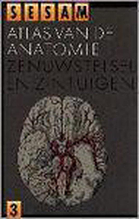 Sesam atlas van de anatomie deel 3: Zenuwstelsel en zintuigen - W. Kahle |