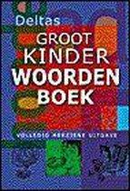 Boek cover Deltas Groot Kinderwoordenboek van Onbekend