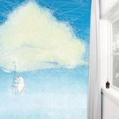 KEK Amsterdam Climbing the clouds - Fotobehang - Full Color