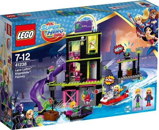 LEGO DC Super Hero Girls Lena Luthor Kryptomite-fabriek - 41238