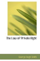 The Law of Private Right