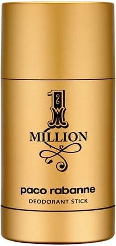 MULTI BUNDEL 3 stuks Paco Rabanne One Million Deodorant Stick 75ml