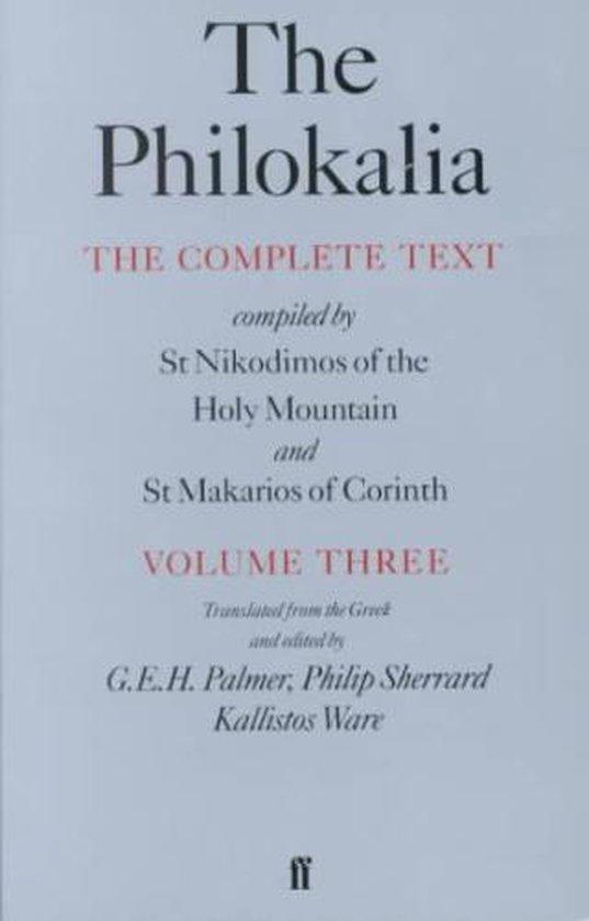 Afbeelding van The Philokalia Vol 3
