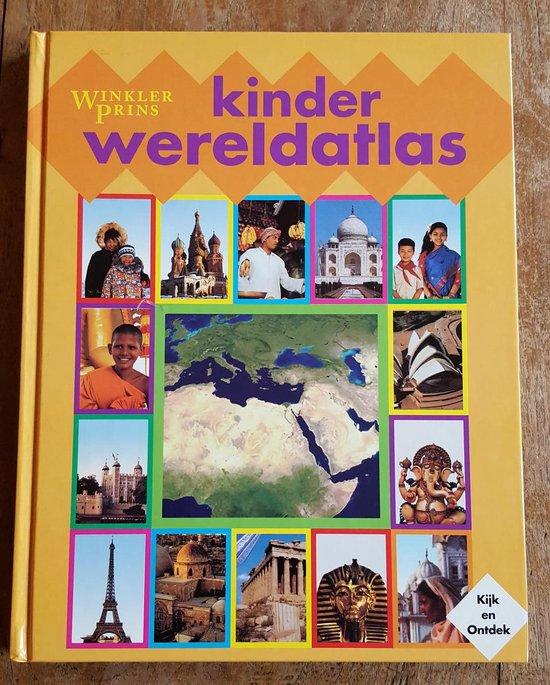winkler prins kinder atlas - een dorling kindersley boek |