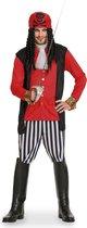 Piraat Man - 5-delig- Verkleedkleding - Maat M/L - Carnavalskleding