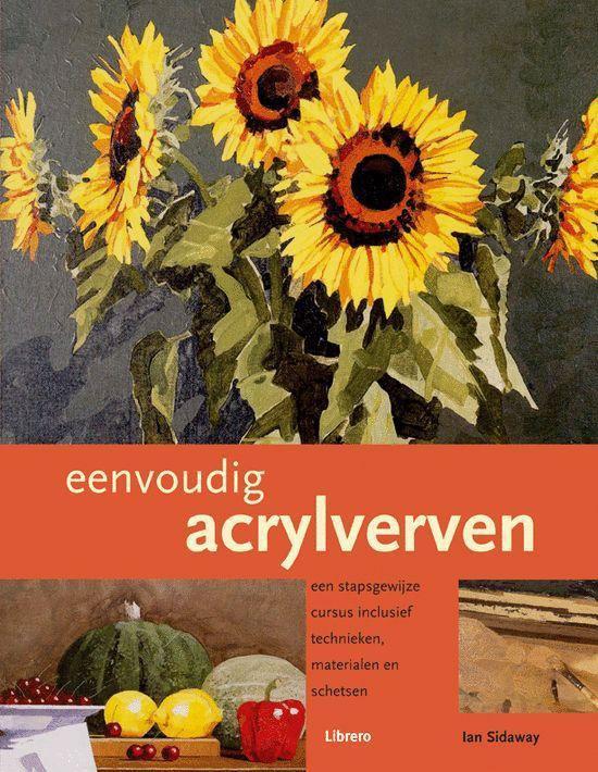 Cover van het boek 'Eenvoudig acrylverven'