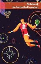 Notebook for basketball coaches