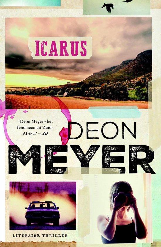 Boek cover Icarus van Deon Meyer (Onbekend)