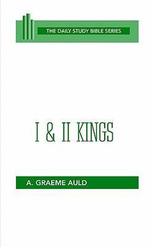 Boek cover I and II Kings van A. Graeme Auld (Paperback)