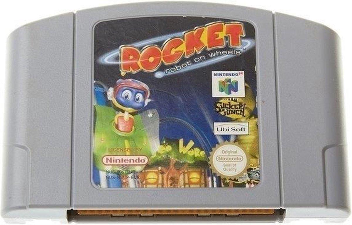 [Nintendo 64] Rocket Robot On Wheels - Nintendo