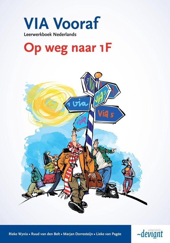 VIA Vooraf - Op weg naar 1F - Leerwerkboek - Rieke Wynia | Fthsonline.com