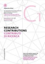 Contributi di Ricerca 1 - Research Contributions 1