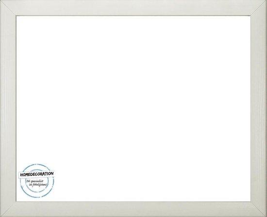 Homedecoration Colorado – Fotolijst – Fotomaat – 55 x 82 cm – Wit houtnerf