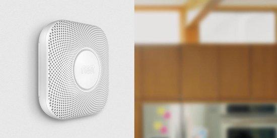 Google Nest Protect - Slimme rook- en koolmonoxidemelder - Met batterij - 3 stuks