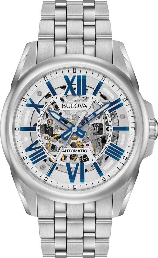 Bulova Classic Automatic 96A187 Horloge - Staal - Zilverkleurig - Ø 43 mm