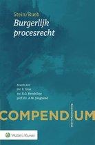 Boek cover Compendium Burgerlijk procesrecht van A.S. Rueb (Paperback)