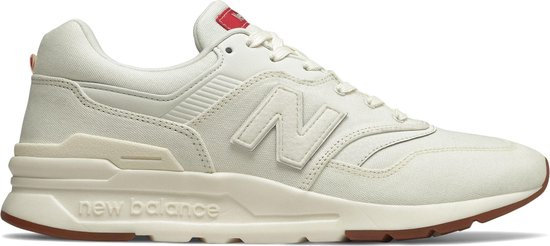 New Balance 997H Sneakers - Maat 44 - Mannen - wit/rood