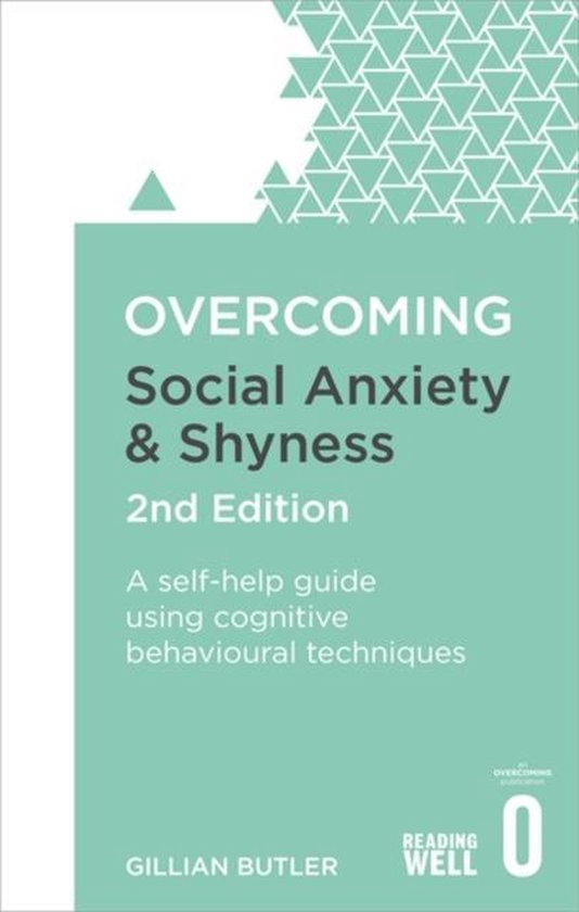 Boek cover Overcoming Social Anxiety and Shyness, 2nd Edition van Dr. Gillian Butler (Paperback)