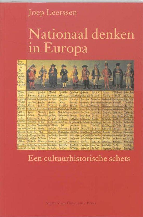 Boek cover Nationaal denken in Europa van Joep Leerssen (Paperback)