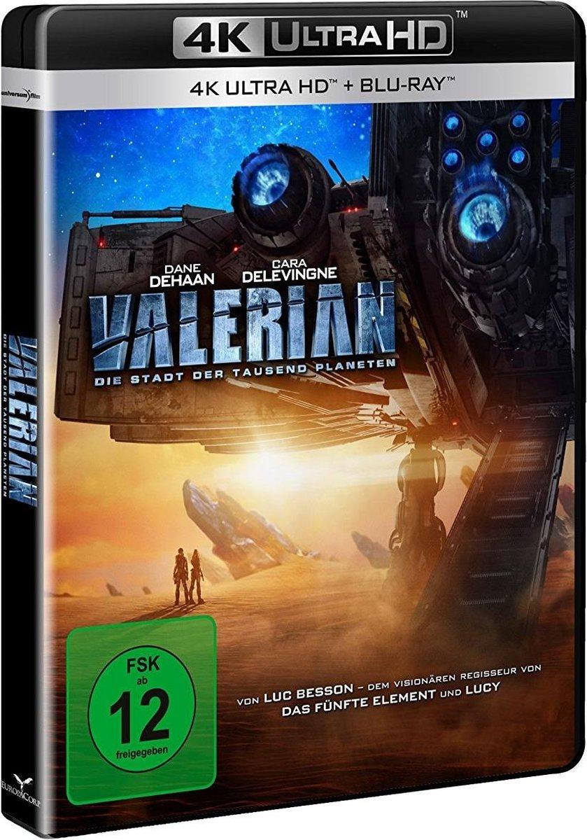 Valerian - Die Stadt der tausend Planeten UHD Blu-ray-
