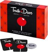 Tease & Please Truth or Dare Erotic Party Edition - EN Rood - Erotisch Bordspel