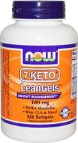 Now Foods 7-Keto LeanGels - 100 mg - 120 Softgels