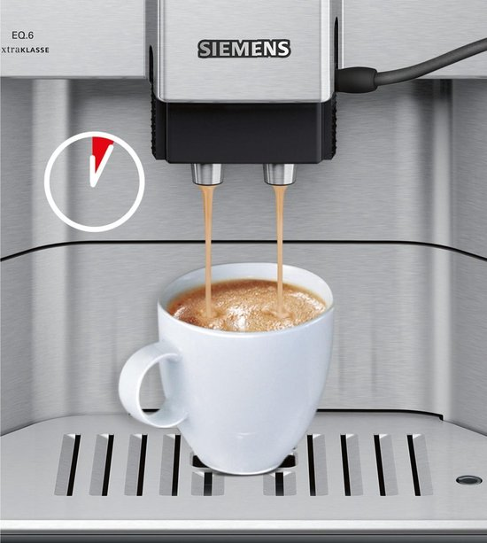 Siemens EQ6 TE617203RW Espressomachine RVS