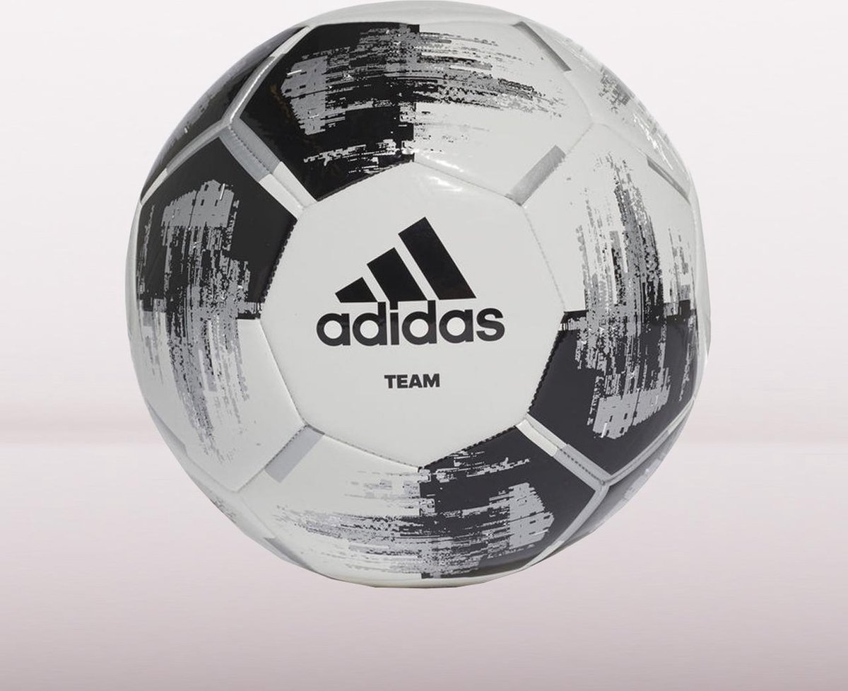 adidas Team Glider Voetbal Maat 5 - Wit/Zwart