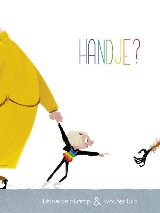 Boek cover Handje? van Tjibbe Veldkamp (Hardcover)