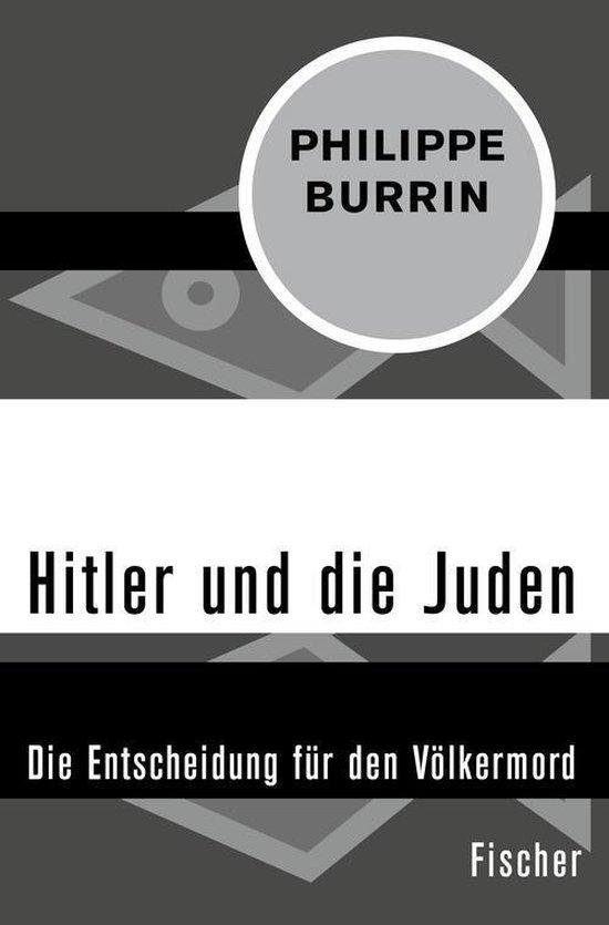 Boek cover Hitler und die Juden van Philippe Burrin