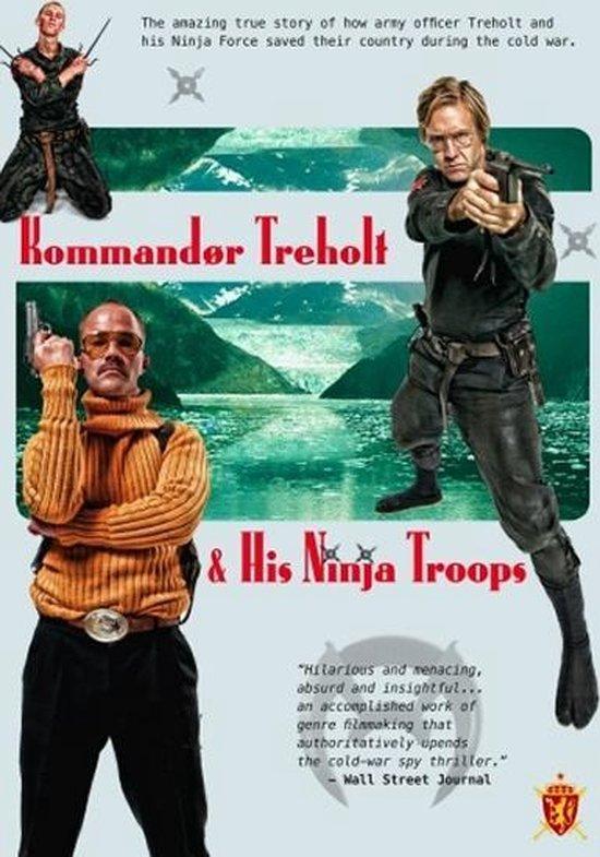 Cover van de film 'Kommandor Treholt & His Ninja Troops'